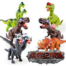 Kids Toy Walking Dinosaur T-Rex Toy Figure With Lights & Sounds, Real Movement ^