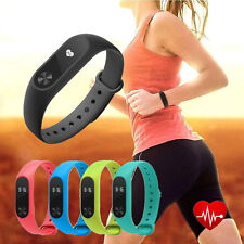 Smart Watch Mi 2 Wristband Heart Rate Monitor Step Counter Fitness Tracker Touch