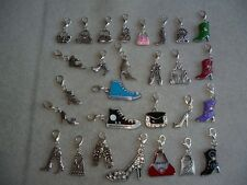 Handcrafted Shoes Boots & Bags Clip-On Charms Handbag Enamel Rhinestone