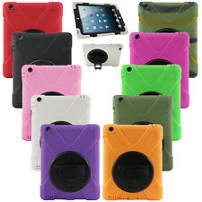 New Deluxe Heavy Duty Tough Shockproof Stand Case Cover for Apple iPad Air Mini