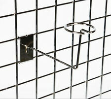 Millinery Arm for Gridwall - grid hat cap shelves retail mesh shopfitting panel