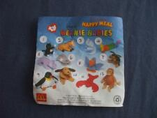 MCDONALDS HAPPY MEAL TOYS:TY TEANIE BEANIE BABIES 1993:6 TO CHOOSE FROM MENU