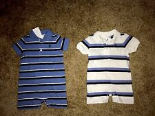 Ralph Lauren Infant Boys Striped Outfit NWT 6 Months