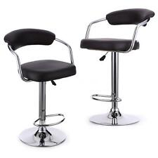 Pneumatic Modern Bar Stools Leather Pub Counter Barstools Kitchen Chair New B9K4