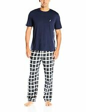 Nautica Men's Plaid Flannel Pant and Short Sleeve Tee Set - Choose SZ/Color