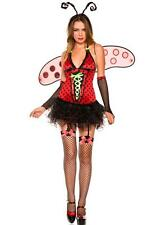 ADULT sexy MUSIC LEGS daisy LADY bug LADYBUG party HALLOWEEN dress up COSTUME