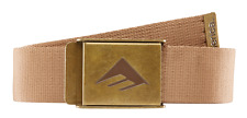 Emerica Kemper Tan Belt One Size Fits All MSRP $16