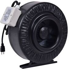 """New 4"""" 6"""" 8"""" Inline Duct Fan Hydroponics Exhaust Blower Air Fresh Move Cooling"""