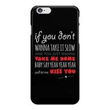 Kiss You Lyrics - One Direction Phone Case - Fun Cases