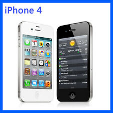 Original iPhone 4 iOS 3.5 inches 5MP Camera WIFI GPS Unlocked Smartphone