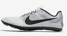 Nike ZOOM VICTORY-3 MEN'S RACING SPIKE SHOES,WHITE/BLACK- Size US 6,6.5,7 Or 7.5