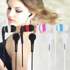 1.2m Colorful 3.5mm In-ear Stereo Earbuds Earphone Headset Without MIC For Phone