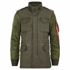 Alpha Industries Fusion Field Coat M-65 Olive Sage