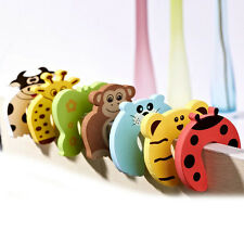 Door Stop Finger Pinch Guard Lock Jammer Stopper Baby Safety Protector 4/10X