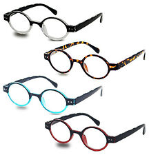Reading Glasses Vintage Style Plastic Readers Spring Hinges New Power Strength
