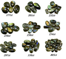 177ct-805ct Big Rare Natural Labradorite Loose Gemstones Cabs Wholesale Lot