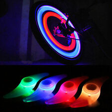 4 pcs Colourful Bike Bicycle Cycling Wheel Spoke Tire Wire Tyre LED Light Lamp