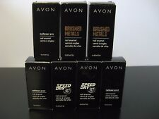 NEW Avon Nailwear Pro+ Speed Dry+ Brushed Metals Nail Enamel Polish 12ml/0.4oz