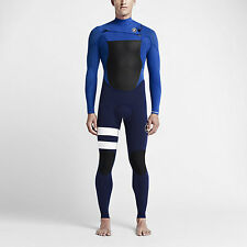Nike HURLEY FUSION-403 FULLSUIT MEN'S WETSUIT Racer Blue/Loyal Blue-Size XS Or S