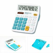 OSALO 837VC 12 Digit Electronic Calculator Large Display Calculate Tool EW
