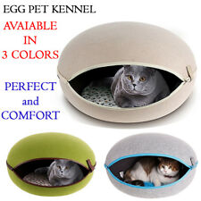 100% New Pet Soft Warm Kennel Dog Mat Blanket Cave Pet Dog Cat Bed Cushion House
