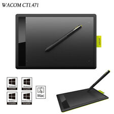 NEW WACOM ONE CTL-471 Bamboo Mice Pen Drawing Tablet + Extra 10 x Spare Pen Nibs