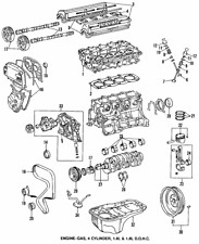 Genuine Toyota Timing Gear 13521-16050