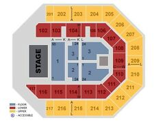 A Perfect Circle FLOOR 2 ROW JJ Ticket - 11/24/17 - Chicago Concert UIC Pavilion