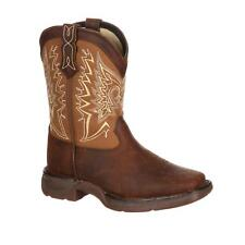 Durango Lil' Youth's Let Love Fly Western Boot Medium Brown DWBT099