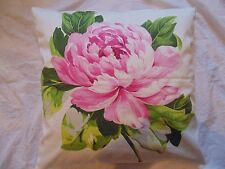 Designers Guild  floral 100% Cotton Fabric Charlottenberg Peony Cushion Cover