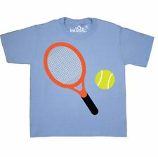 Inktastic Tennis Racket And Ball Youth T-Shirt Sports Player Team Hobbies Hobby