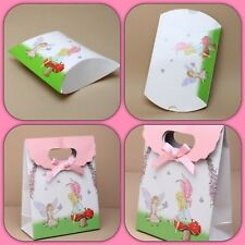 Pillow Pack Gift Box Fairy Tinkerbell Childs Birthday Party Bags Boxes Xmas