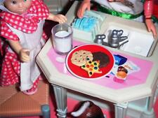 Rement Cookies & Milk for Santa Fisher Price Loving Family Dollhouse
