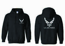 US Air Force hoodie sweater United States Air Force USAF B/W B/B No.111