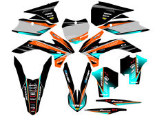 EARLY 2016 THRU 2016.5 KTM SX 250 ONLY GRAPHICS KIT DECO DECALS STICKERS DÉCOR