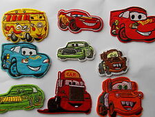 Disney Pixar Cars - Embroidered Iron / Sew on Patch Applique Badge