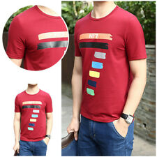 Summer Short Sleeve 3D T shirt Cotton Men's Casual T Shirts Men's T-shirt 1Pcs