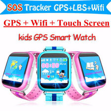 Q100 Wireless GPS Kids Children Smart Watch Touch Screen Support SOS Call Q750