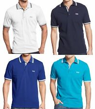 Classic Modern Fit Short Sleeve Hugo Boss Paddy Green Polo T Shirts for Men