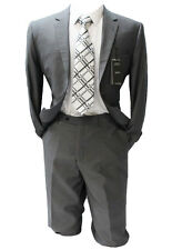 Angelo Rossi by Giorgio Cosani Charcoal Gray Modern Fit Suit Mens Suits
