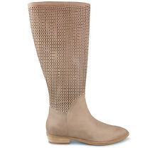 Wittner Ladies Shoes Beige Leather Boots