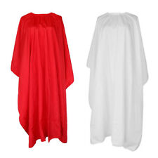 Silk Hair Cutting Hairdressing Barbers Cape Gown Cloth Apron Salon Beauty