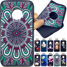 For Motorola Moto G5 Plus Rubber Various TPU Fashion Case Cover Back Soft Skin