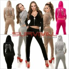 Womens New Tracksuit Set Size 8 10 12 Pants Jacket & Hoodie Hot Sexy Sportswear