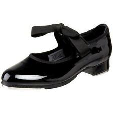 Dance Shoes Tyette Tap Black Patent Leather Student Youth Adult Size 1-7
