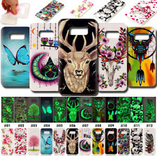 For Samsung Fluorescence Cover Rubber Night Lights Soft TPU Case Silicone Skin