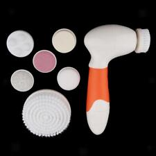 Electric Facial Cleansing Brush Scrubber Skin Spa Care Waterproof Pore CLeaner