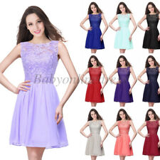 Short Homecoming Dresses Chiffon Prom Formal Cocktail Party Bridesmaid Dresses