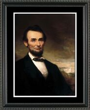 Historic Wall Art - Abraham Lincoln Portrait - Patriotic Print Gift HLINC1620