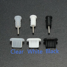 10x 3.5mm Earphone Jack And Micro USB Cell Phone Port Cover Cap Dust Protector